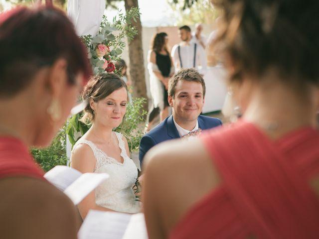 Le mariage de Robin et Laura à Servian, Hérault 82