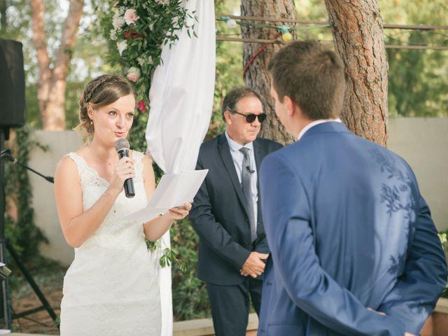 Le mariage de Robin et Laura à Servian, Hérault 84