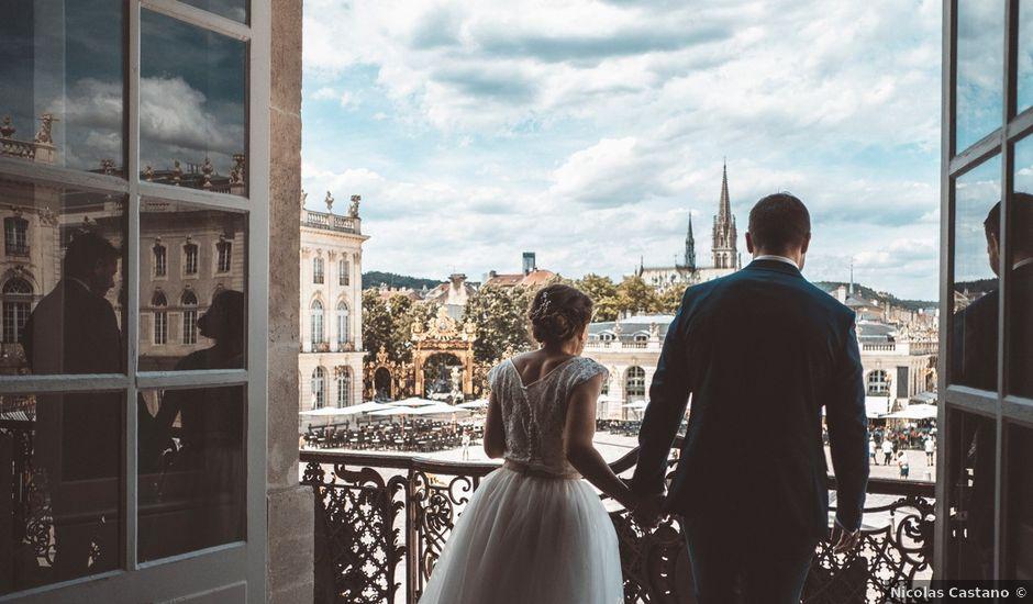 Le mariage de Léo et Amandine à Nancy, Meurthe-et-Moselle