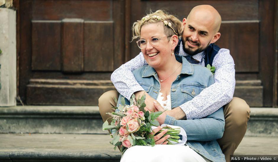 Le mariage de Julien et Coralie à Hazebrouck, Nord