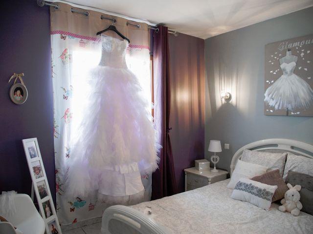 Le mariage de Christian et Fanny à Baixas, Pyrénées-Orientales 1