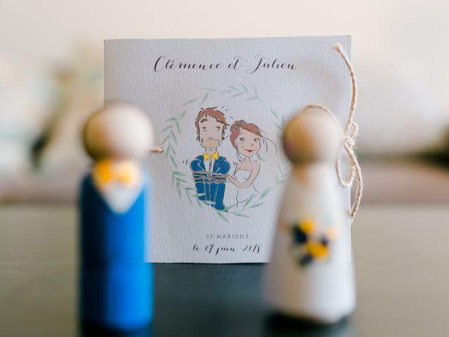 Le mariage de Julien et Clémence à La Londe-les-Maures, Var 1