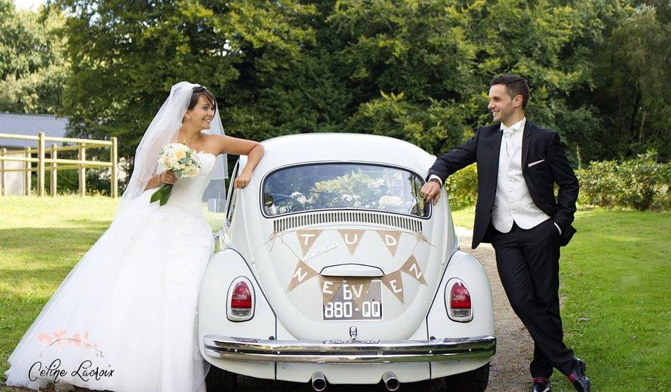 Le mariage de Louis-Marie et Céline à Noyal-Pontivy, Morbihan