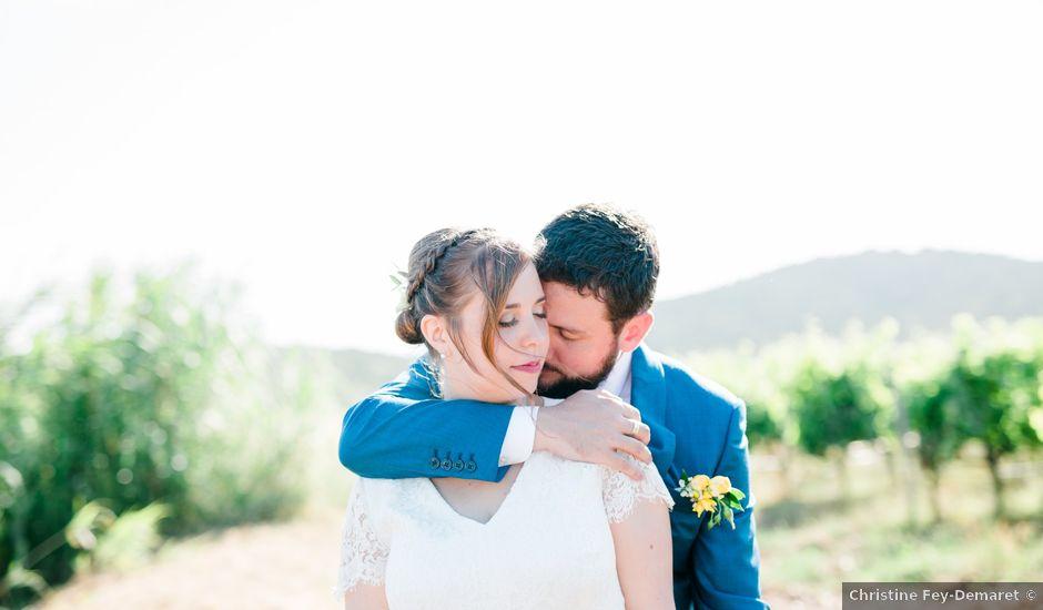 Le mariage de Julien et Clémence à La Londe-les-Maures, Var