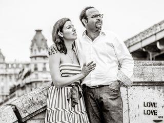 Le mariage de Sorina et Bharat 1