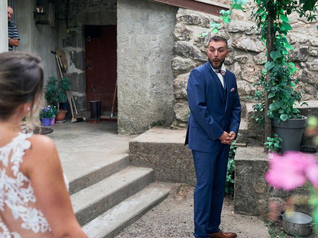 Le mariage de Nicolas et Delphine à Jaujac, Ardèche 6