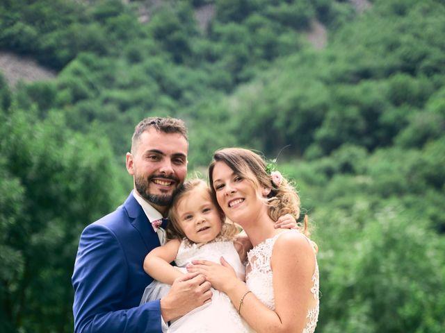 Le mariage de Nicolas et Delphine à Jaujac, Ardèche 7