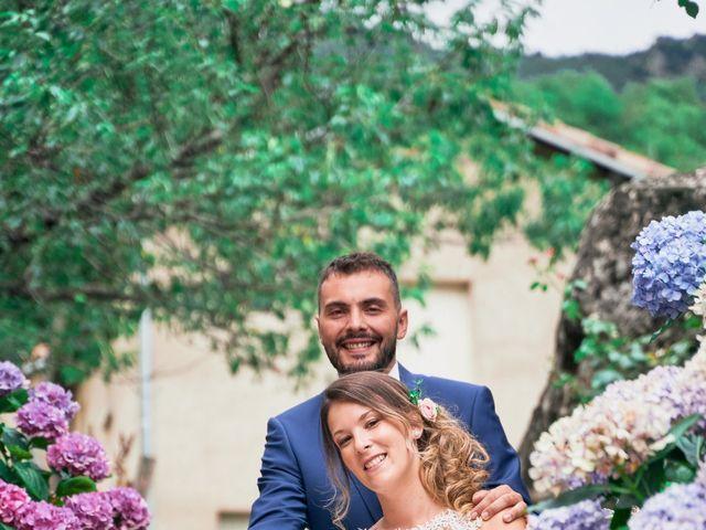 Le mariage de Nicolas et Delphine à Jaujac, Ardèche 1