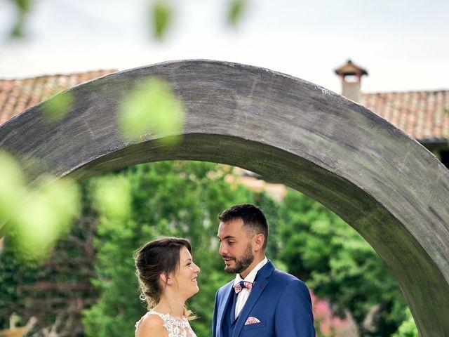 Le mariage de Nicolas et Delphine à Jaujac, Ardèche 8