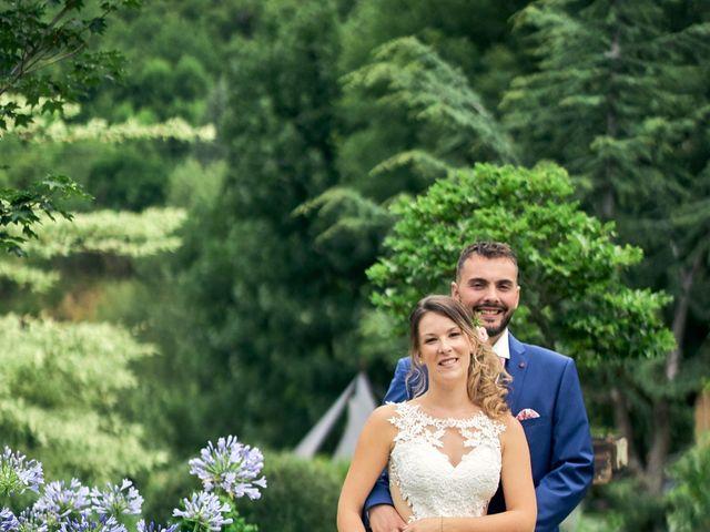 Le mariage de Nicolas et Delphine à Jaujac, Ardèche 9