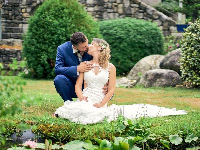 Le mariage de Nicolas et Delphine à Jaujac, Ardèche 10