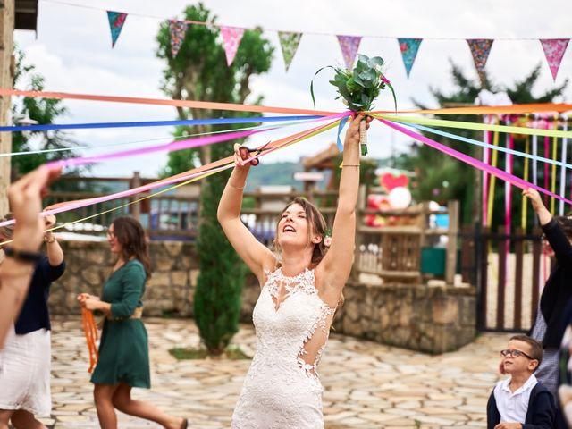 Le mariage de Nicolas et Delphine à Jaujac, Ardèche 24