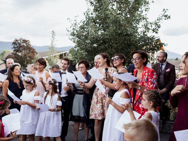 Le mariage de Clément et Pauline à Margencel, Haute-Savoie 46