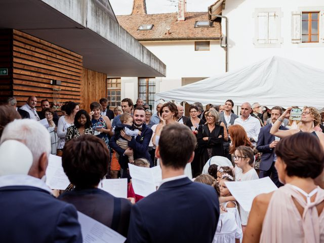 Le mariage de Clément et Pauline à Margencel, Haute-Savoie 45