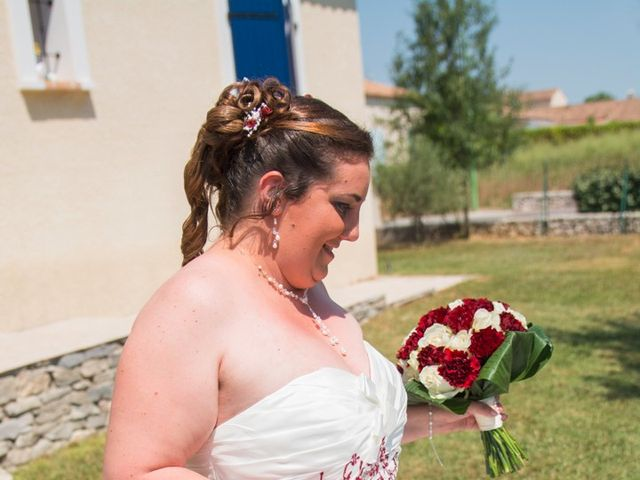Le mariage de David et Angéline à Saint-Martin-de-Londres, Hérault 21