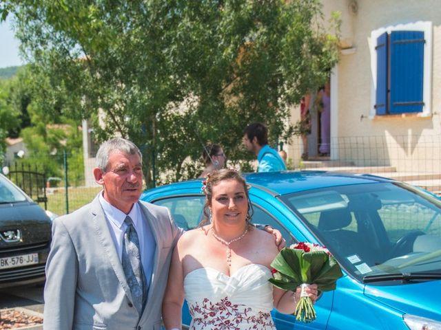 Le mariage de David et Angéline à Saint-Martin-de-Londres, Hérault 22