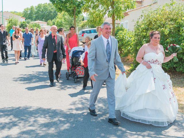 Le mariage de David et Angéline à Saint-Martin-de-Londres, Hérault 23