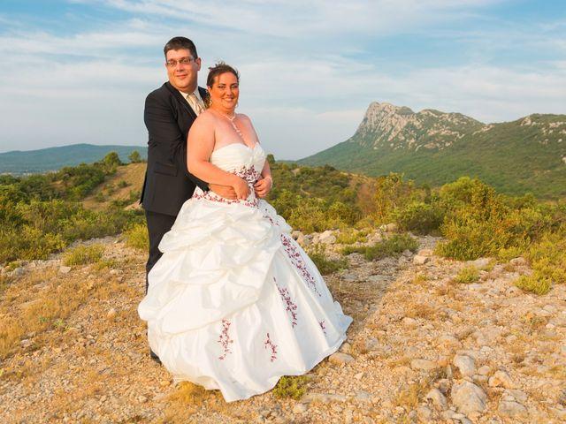 Le mariage de David et Angéline à Saint-Martin-de-Londres, Hérault 79