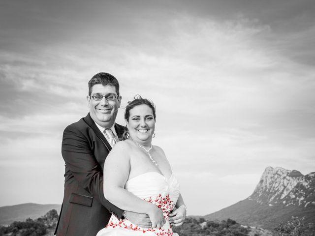 Le mariage de David et Angéline à Saint-Martin-de-Londres, Hérault 81