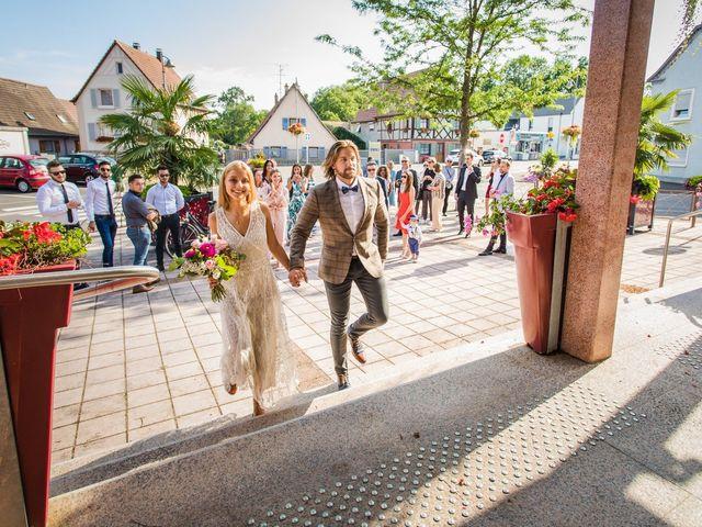 Le mariage de David et Laura à Wettolsheim, Haut Rhin 5