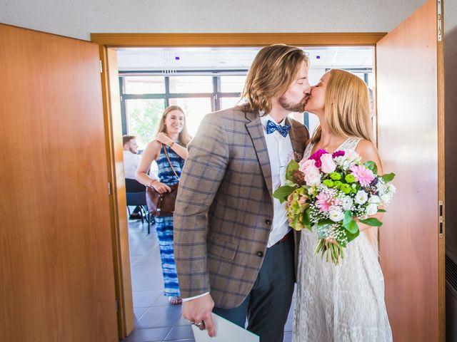 Le mariage de David et Laura à Wettolsheim, Haut Rhin 10