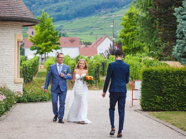 Le mariage de David et Laura à Wettolsheim, Haut Rhin 38