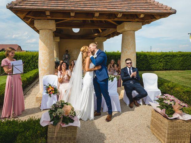 Le mariage de David et Laura à Wettolsheim, Haut Rhin 42