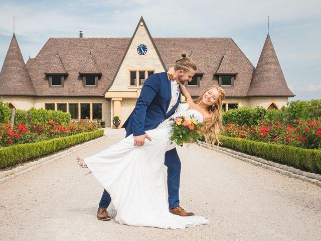 Le mariage de David et Laura à Wettolsheim, Haut Rhin 48
