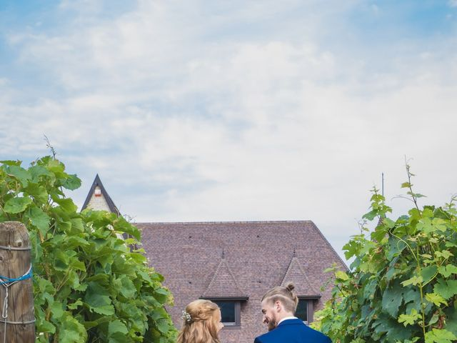 Le mariage de David et Laura à Wettolsheim, Haut Rhin 49