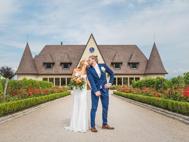 Le mariage de David et Laura à Wettolsheim, Haut Rhin 1