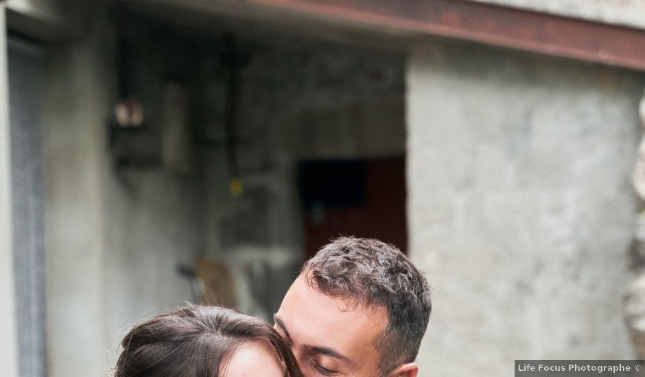Le mariage de Nicolas et Delphine à Jaujac, Ardèche