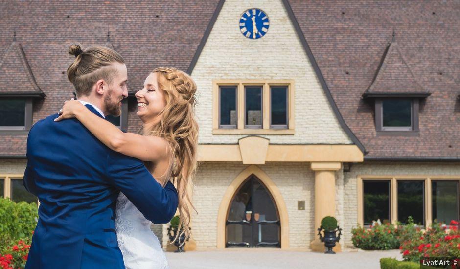 Le mariage de David et Laura à Wettolsheim, Haut Rhin