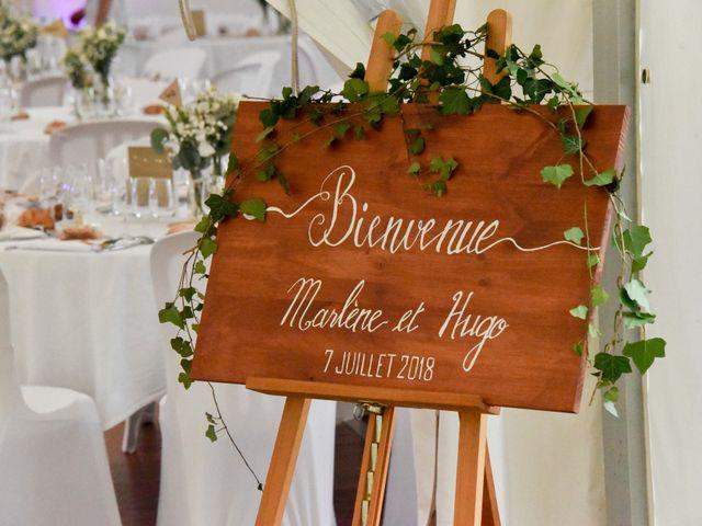 Le mariage de Hugo et Marlène à Fontaine-le-Comte, Vienne 53