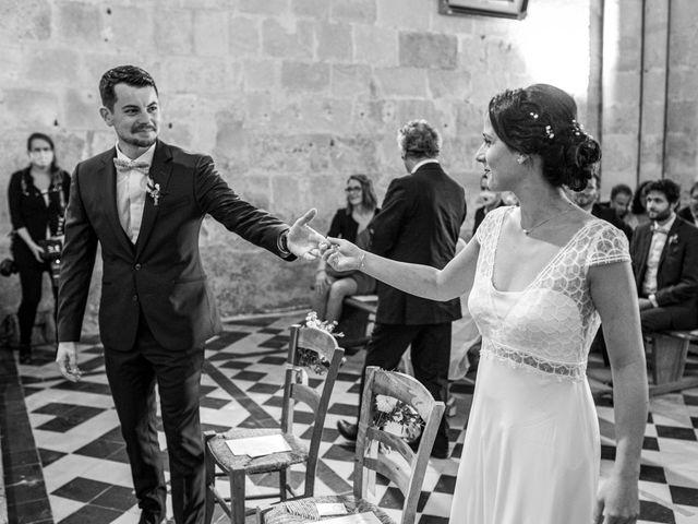 Le mariage de Benjamin et Adeline à Saint-Christophe-des-Bardes, Gironde 13