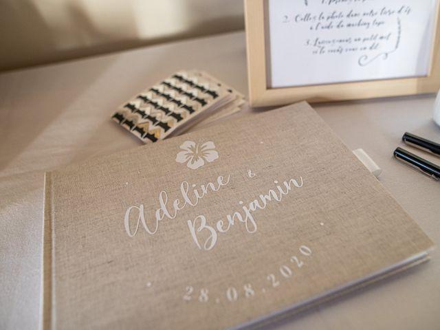 Le mariage de Benjamin et Adeline à Saint-Christophe-des-Bardes, Gironde 25