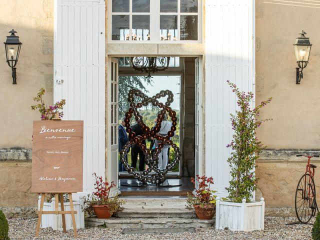 Le mariage de Benjamin et Adeline à Saint-Christophe-des-Bardes, Gironde 43