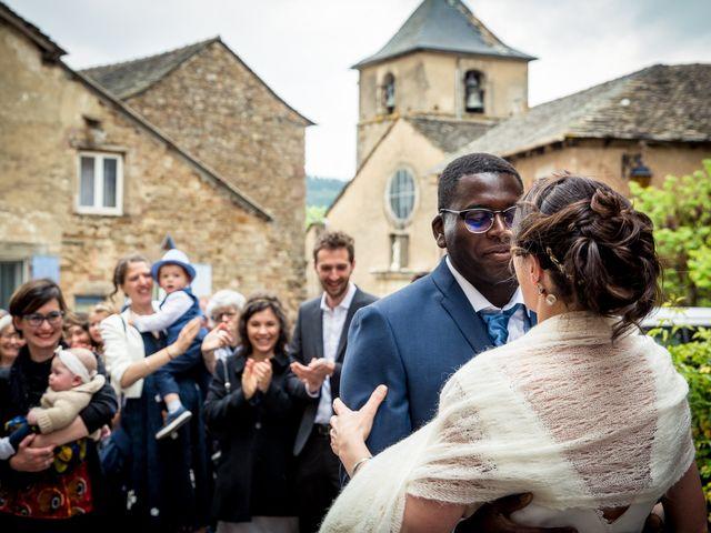 Le mariage de Silman et Anne à Calmels-et-le-Viala, Aveyron 3