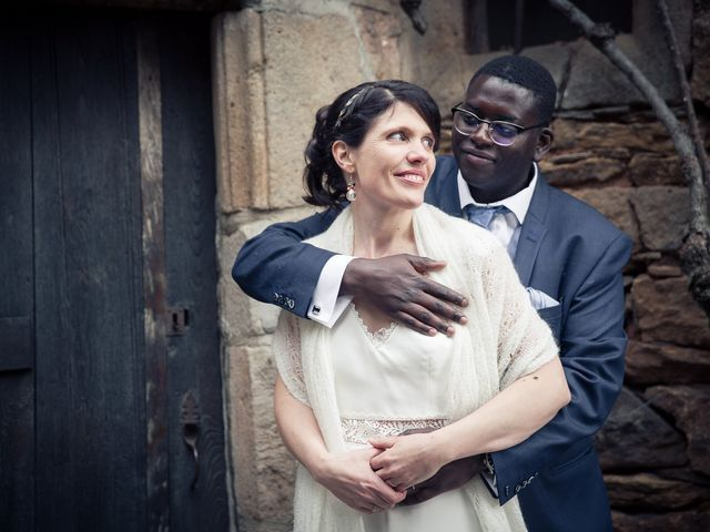 Le mariage de Silman et Anne à Calmels-et-le-Viala, Aveyron 18