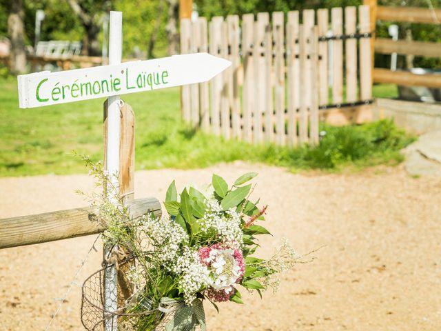 Le mariage de Florent et Amélie à Châteauneuf-sur-Sarthe, Maine et Loire 24