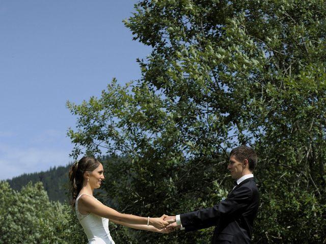 Le mariage de Alexandre et Elodie à Lamoura, Jura 8