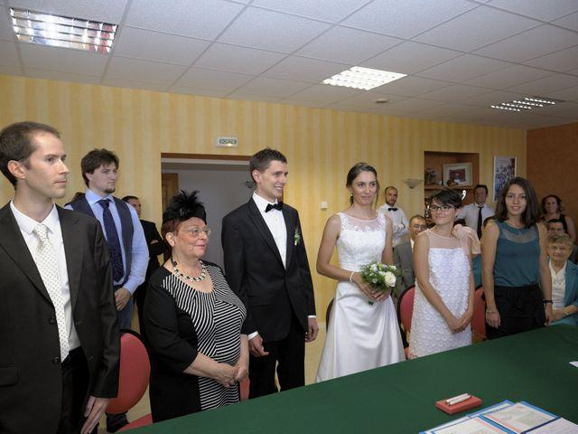 Le mariage de Alexandre et Elodie à Lamoura, Jura 14