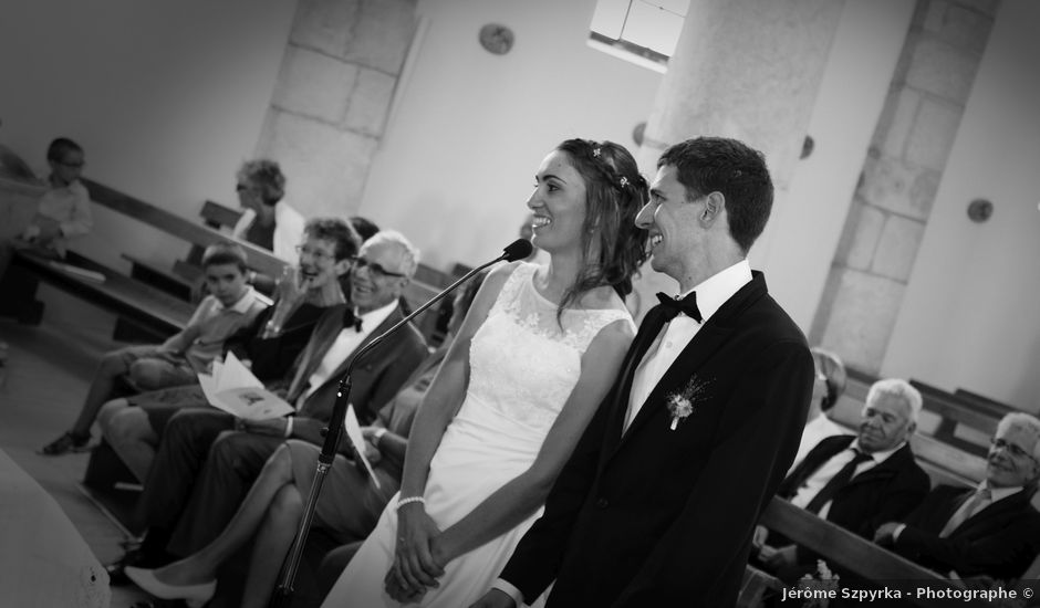 Le mariage de Alexandre et Elodie à Lamoura, Jura