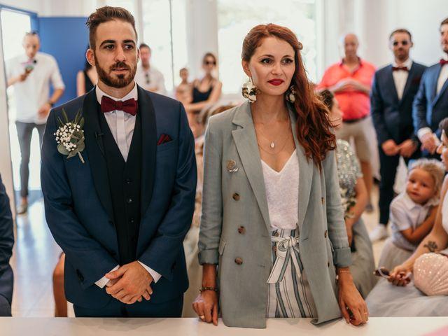 Le mariage de Romain et Fannie à La Capte, Var 69