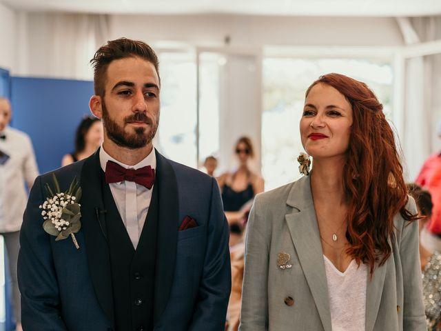 Le mariage de Romain et Fannie à La Capte, Var 71