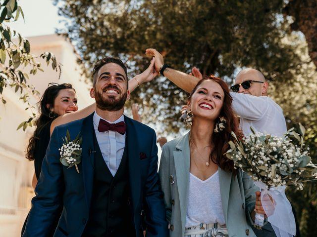 Le mariage de Romain et Fannie à La Capte, Var 85