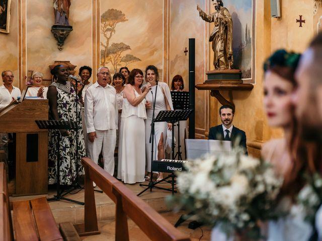 Le mariage de Romain et Fannie à La Capte, Var 149