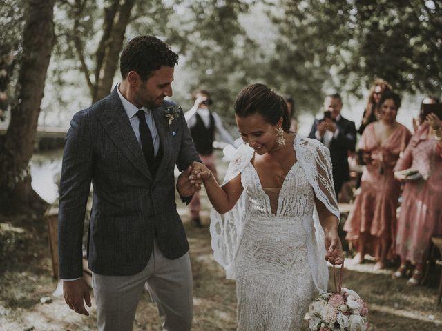 Le mariage de Julien et Louisa à Saint Sulpice sur Loire, Maine et Loire 36