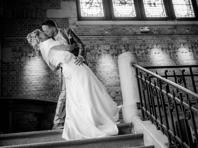 Le mariage de David et Mélissa à Comines, Nord 1
