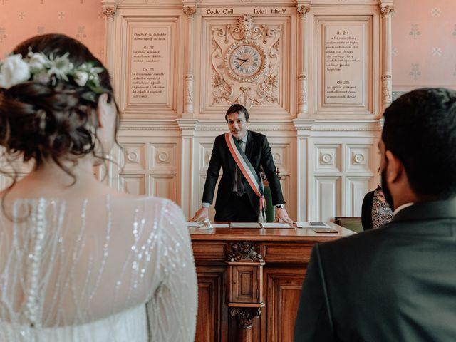 Le mariage de Yasmina et Sohan à Bray-et-Lû, Val-d'Oise 40