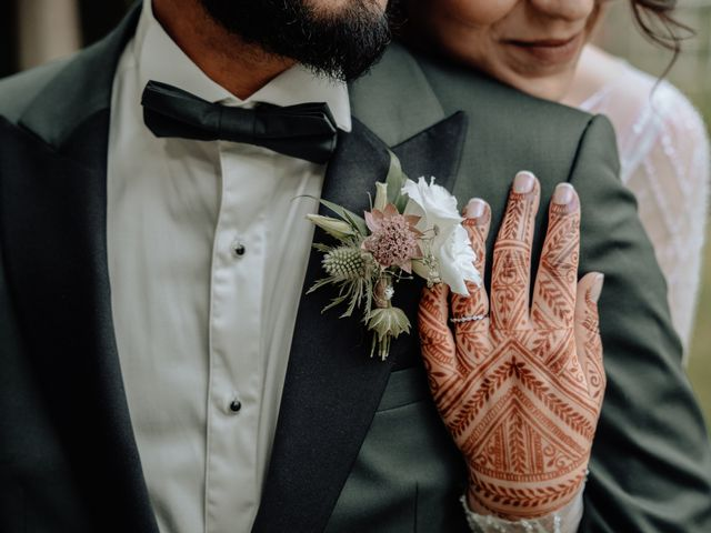 Le mariage de Yasmina et Sohan à Bray-et-Lû, Val-d'Oise 46